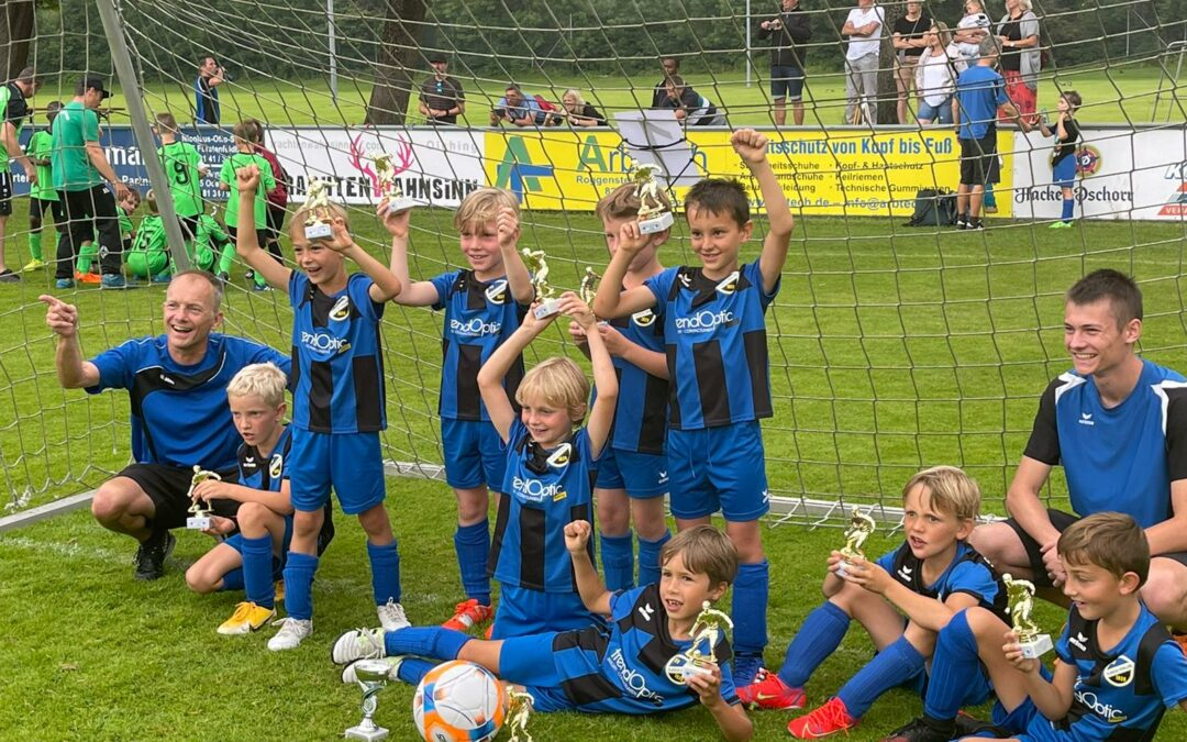 Turniersieg der U8 (F2) beim SC Olching