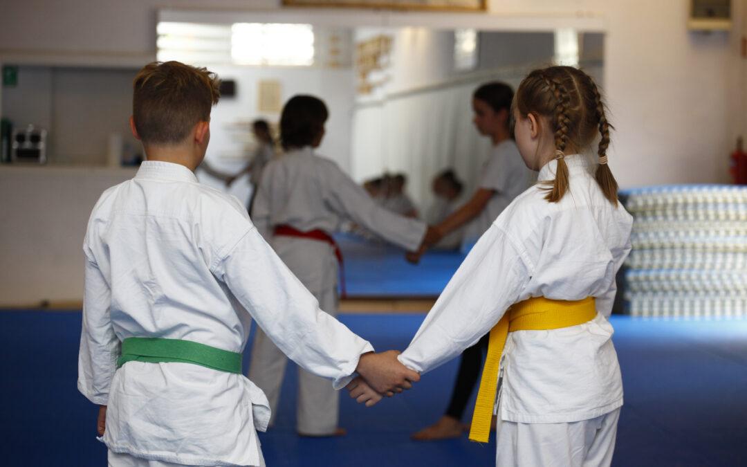 Ju-Jutsu-Kindertraining in den Sommerferien