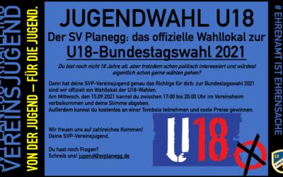 U18 Jugendwahl – unser Vereinsjugend wahllokal